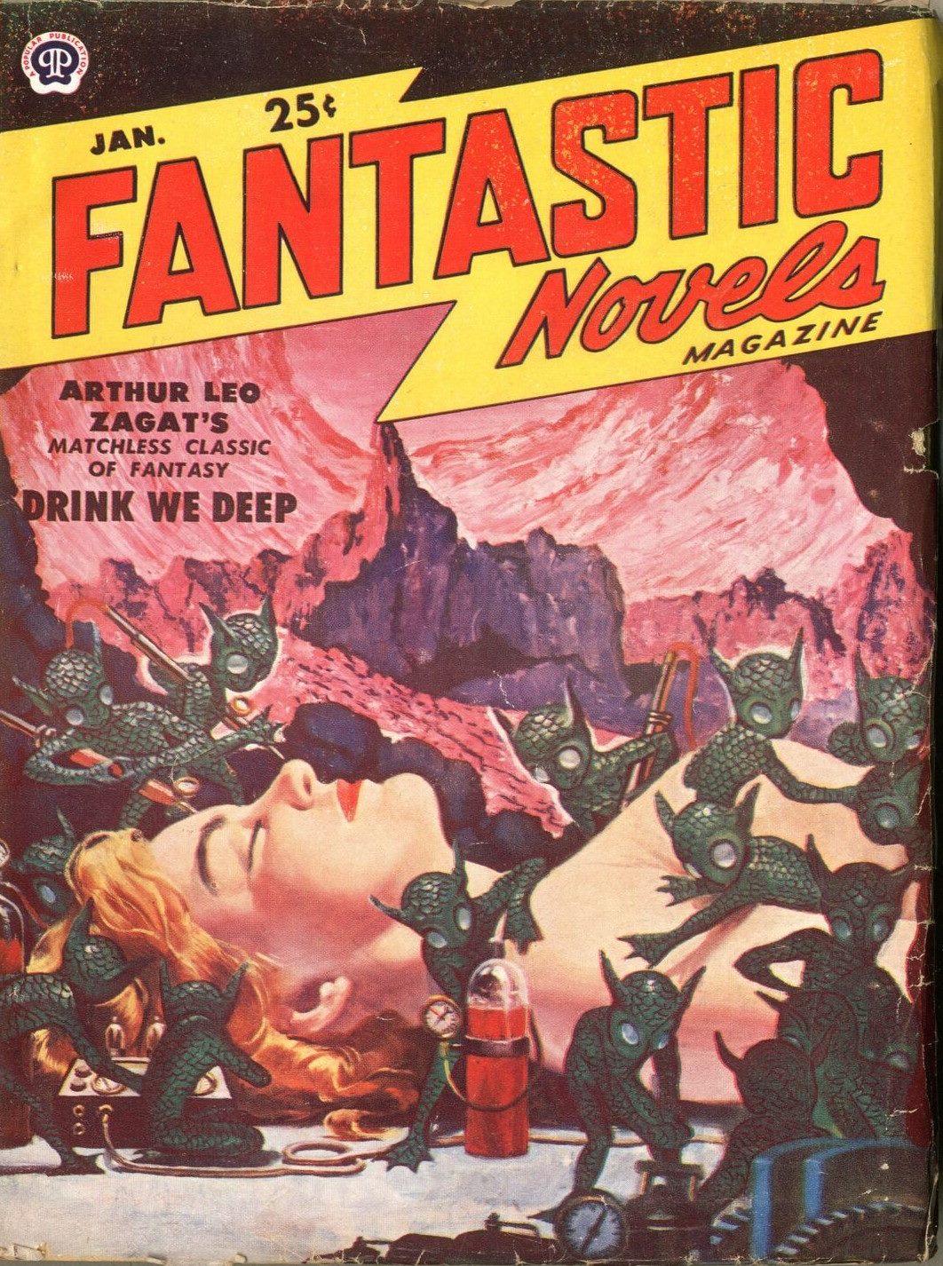 Fantastic Novels Magazine January 1951